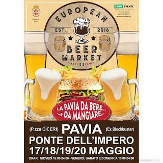 European Beer Market dal 17 al 20 maggio Pavia