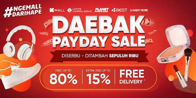 #ILOTTE - #Promo DARBAK Payday Sale Diskon Hingga 80% & Ekstra Diskon Hingga 15%