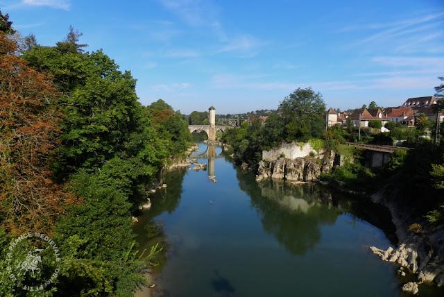 ORTHEZ (64) - Pont médiéval fortifié