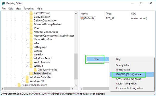 Cara membuat registry baru pada Windows 10