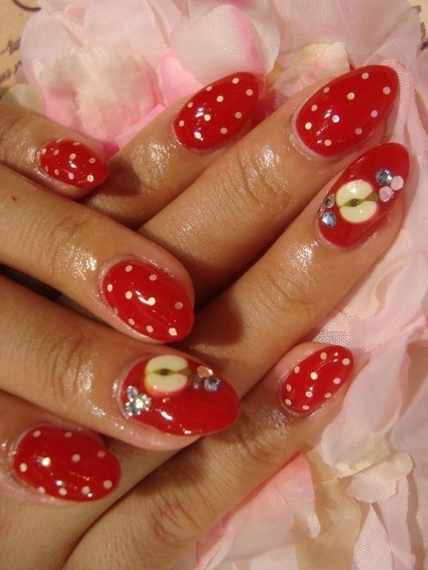 Nail Art Design 2014: Collection of fruit nail art