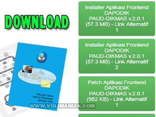 DOWNLOAD APLIKASI DAPOPAUDNI V 2.0.1