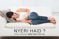 nyeri haid, pakailah deep sea fish oil