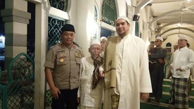 Jalin Sinergitas, Kapolsek Cileduk Bersilaturohmi ke Habib Novel bin Jindan