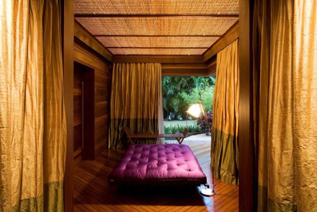 Một phòng nghỉ của căn biệt thự