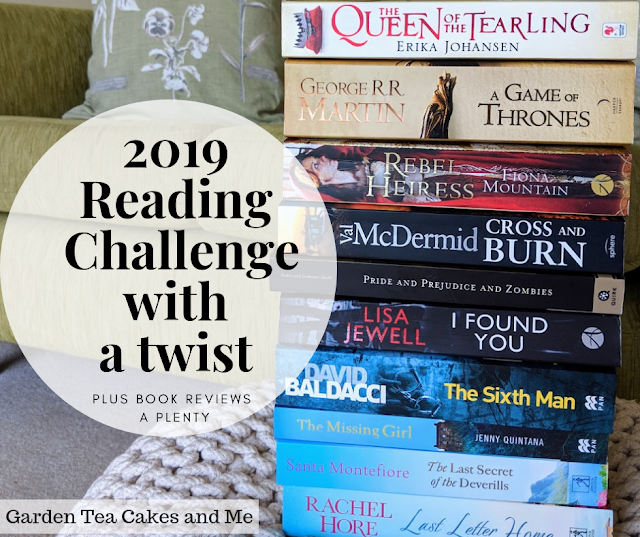 2019 Goodreads Reading Challenge Garden Tea Cakes and Me