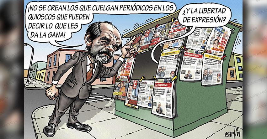 Carlincaturas Lunes 29 Abril 2019 - La República