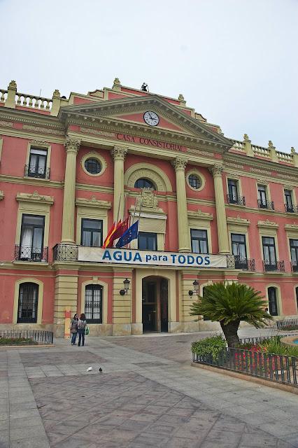 budynek urzędu miasta Murcja