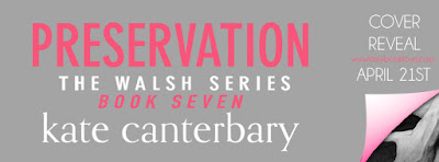 Cover Reveal:  Preservation – Kate Canterbary