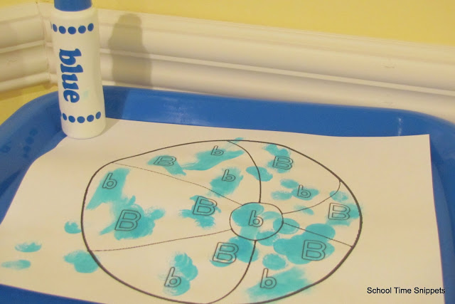 Letter B Toddler Activities