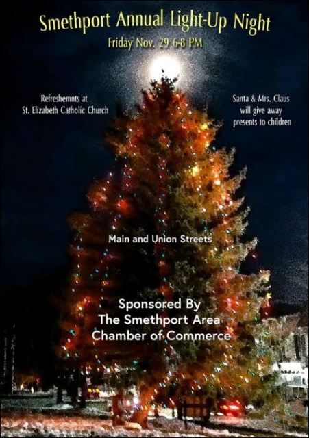 11-29 SMETHPORT ANNUAL LIGHT UP