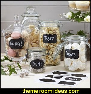 Chalkboard Sticker Labels