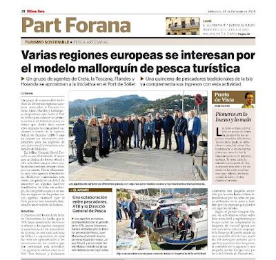 Europa se interesa por el modelo de excursiones en barcos de pesca de Pescaturismo