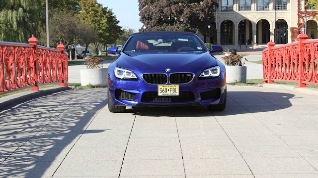 2016 New BMW Edition M6 Convertible front eagle view