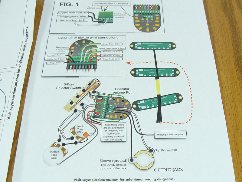 Dorable Duncan Designed Pickups Wiring Diagrams Ensign - Electrical ...
