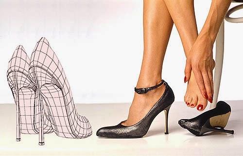 Tips Sepatu Wanita Hak Tinggi