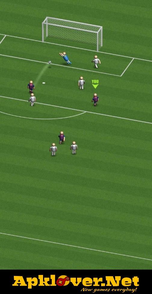 Soccer top scorer 2 MOD APK unlimited money