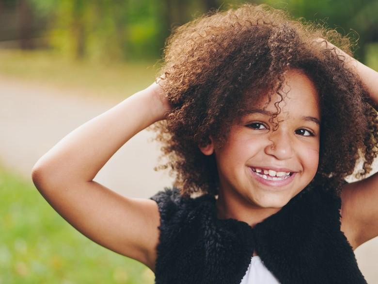 sourire d'un enfant