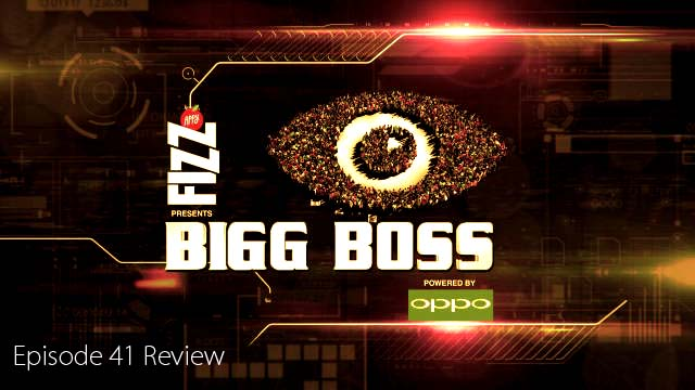 Bigg Boss 11 Episode 41 Review and Live updates