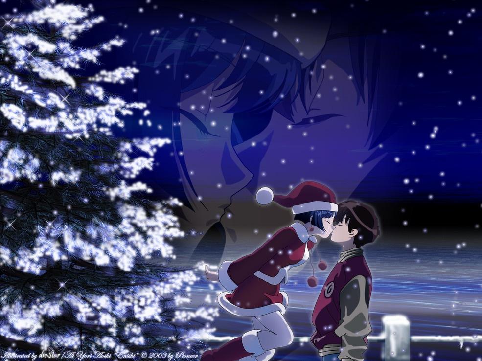 Wallpapersku anime christmas wallpapers - Anime girl christmas wallpaper ...