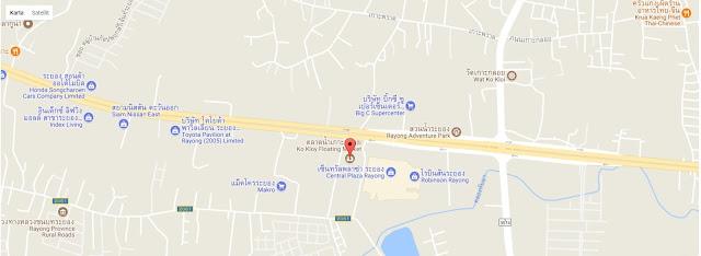 Map Rayong