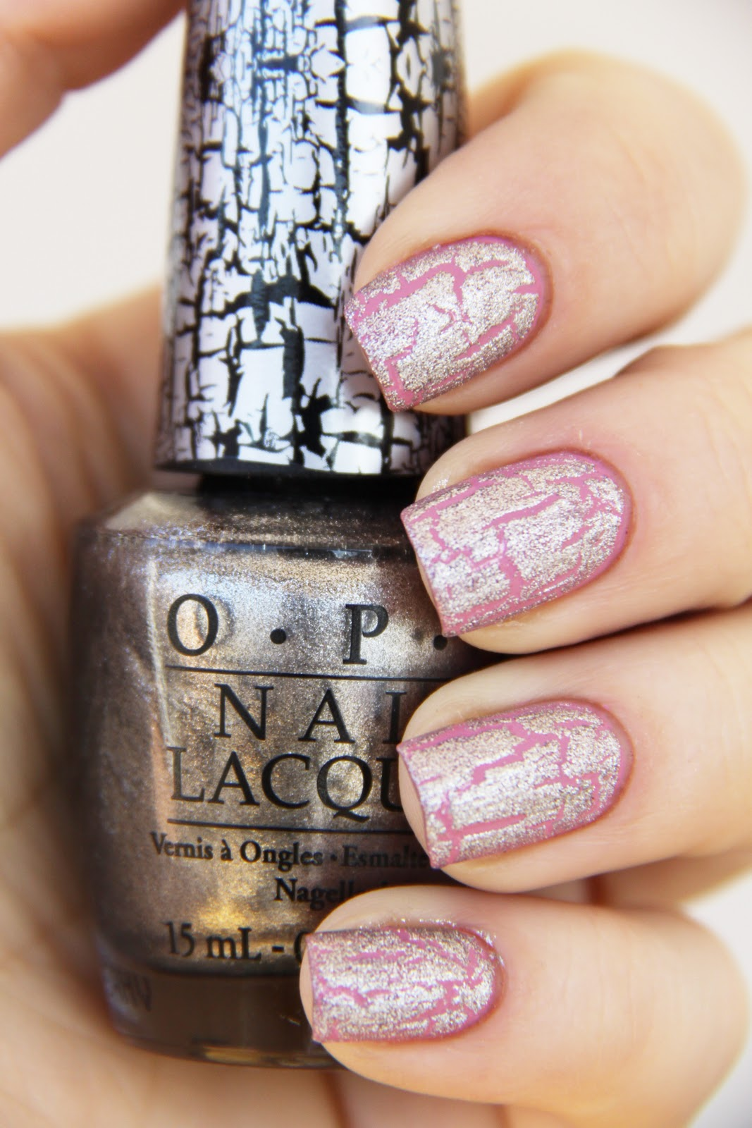 Nails by Catharina: OPI Sparrow me the drama + Silver shatter