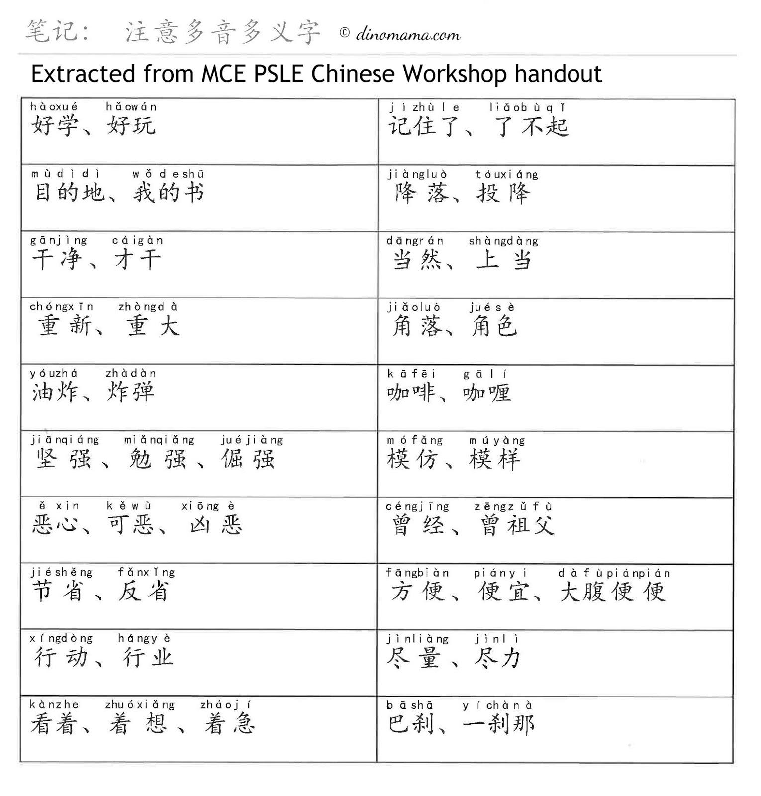 Marshall Cavendish Education Psle Students Chinese