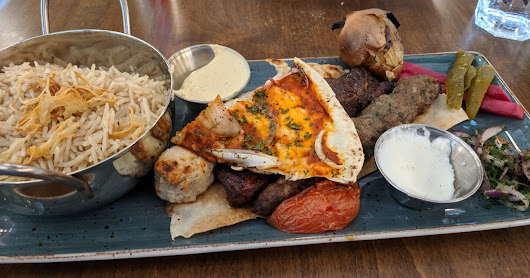 Eating up the Hill: Mixed Grill at Paramount Fine Foods