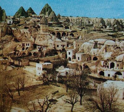 Foto Desa Macan di Kota Kayseri Turki Tengah