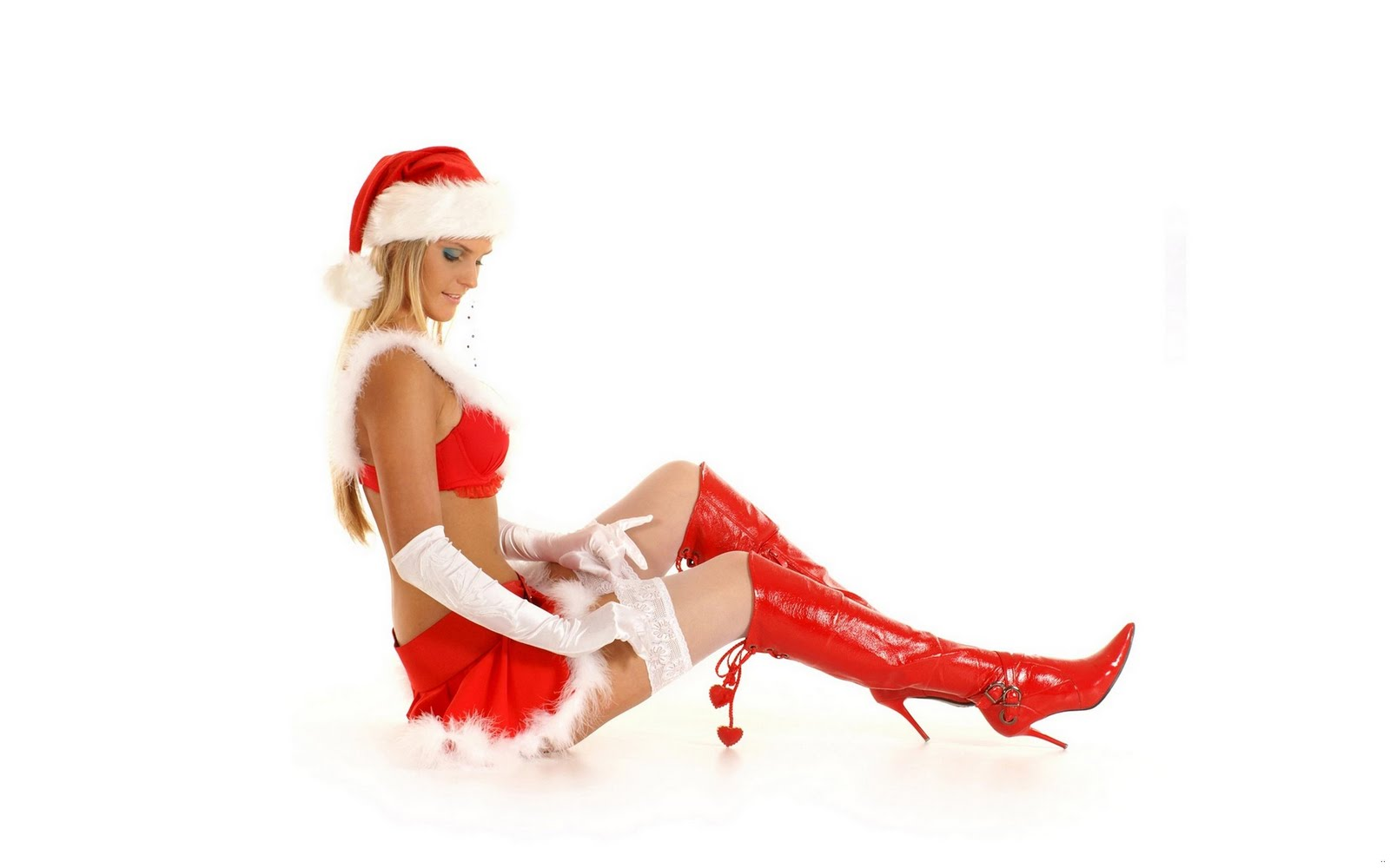 Hot christmas girl santa-1391