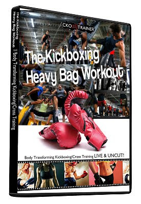 Kickboxing Heavy Bag Workout Warning Below Michael Andreula Method Mma Home Fitness Program Pro Trainer And Conditioning