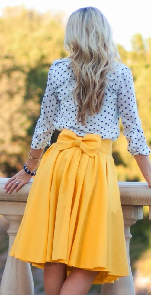 cute skirt if you want to get noticed