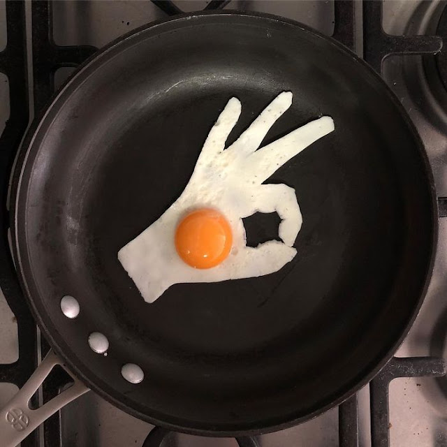 telur tanda ok