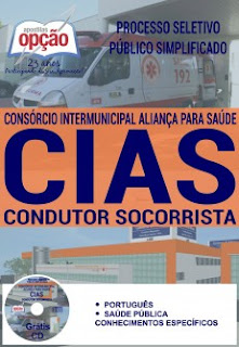 Apostila Cias-MG - Consórcio Aliança Condutor Socorrista