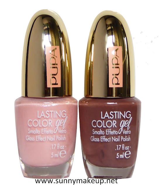 Pupa - Pink Muse. Collezione di makeup primavera 2017.  Lasting Color Gel.