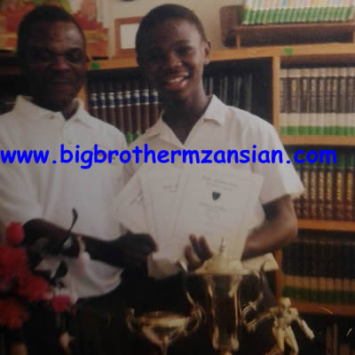 BBMzansi winner Nkanyiso Ace Khumalo photo In School