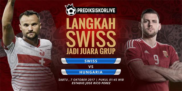 PREDIKSI BOLA Swiss vs Hungaria