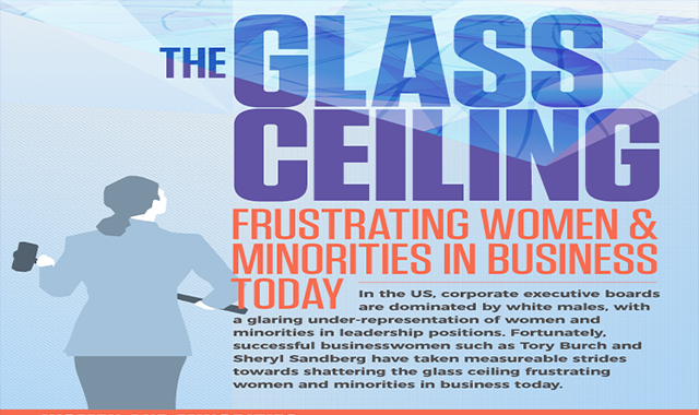The Glass Ceiling Frustrating Women and Minorities in Business Today