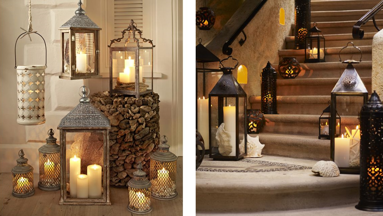 Homedecorationideas Faroles Para Iluminar Y Decorar