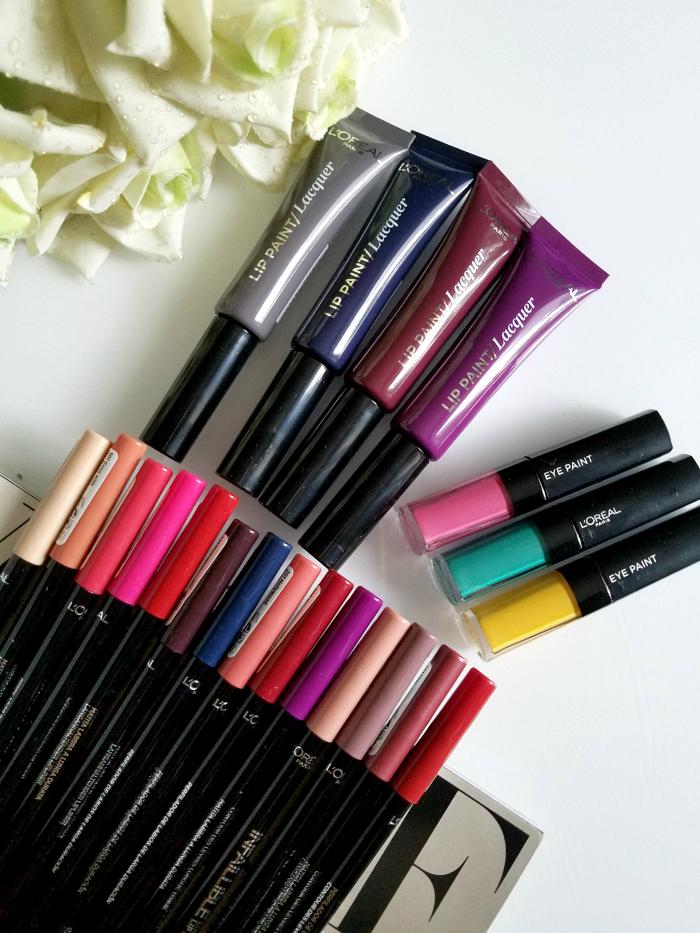 Review, Swatches: Neue L´Oréal Paris - Infaillible Longwear Lip Liner, Lip Paint Vampies & Eye Paint - Neue Farben