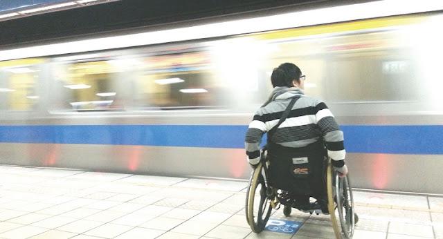 Deficientes físicos em Florença