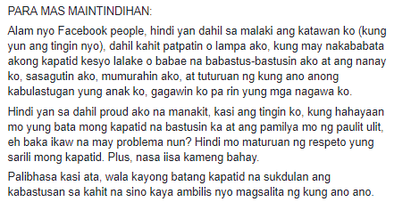 OTHER SIDE OF THE STORY. Kuya Who Beated Her Sister Defended Himself PROFESSIONALLY