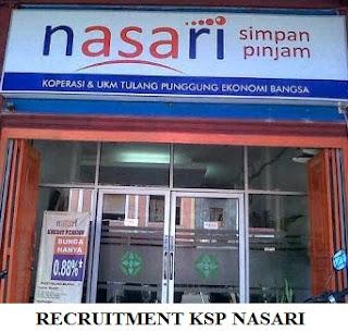 Lowongan Kerja Lembaga Keuangan KSP Nasari Kota Mataram terbaru bulan Januari 2018