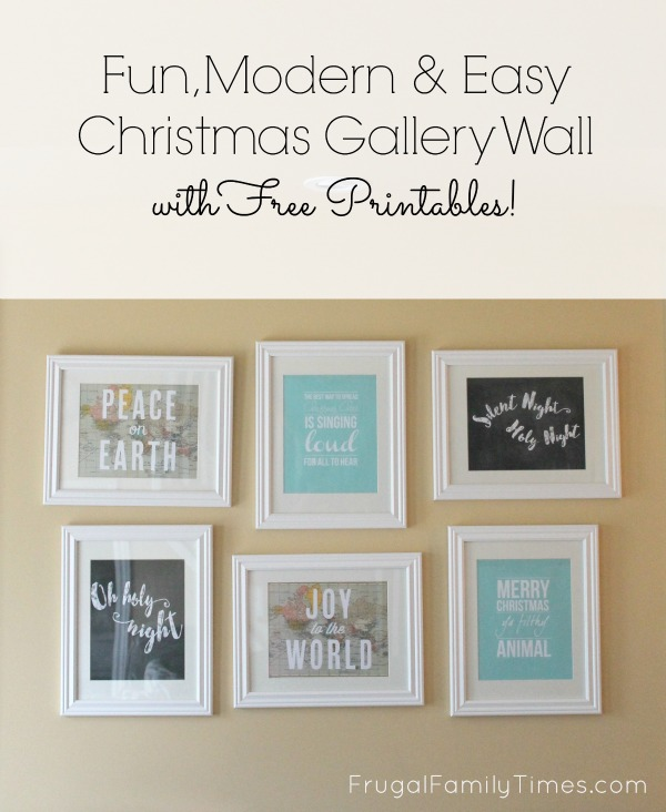 picture regarding Free Printable Artwork to Frame called Pleasurable, Revolutionary Straightforward Xmas Gallery Wall: Cost-free Printables