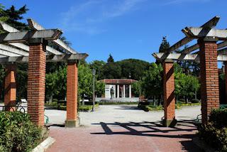 Monumento a Sarasate, en el Parque de la Media Luna