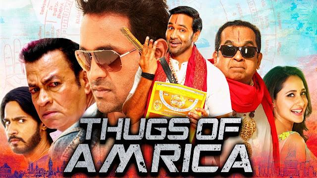 Thugs Of Amrica 2019 Hindi Dubbed 720p HDRip 700mb