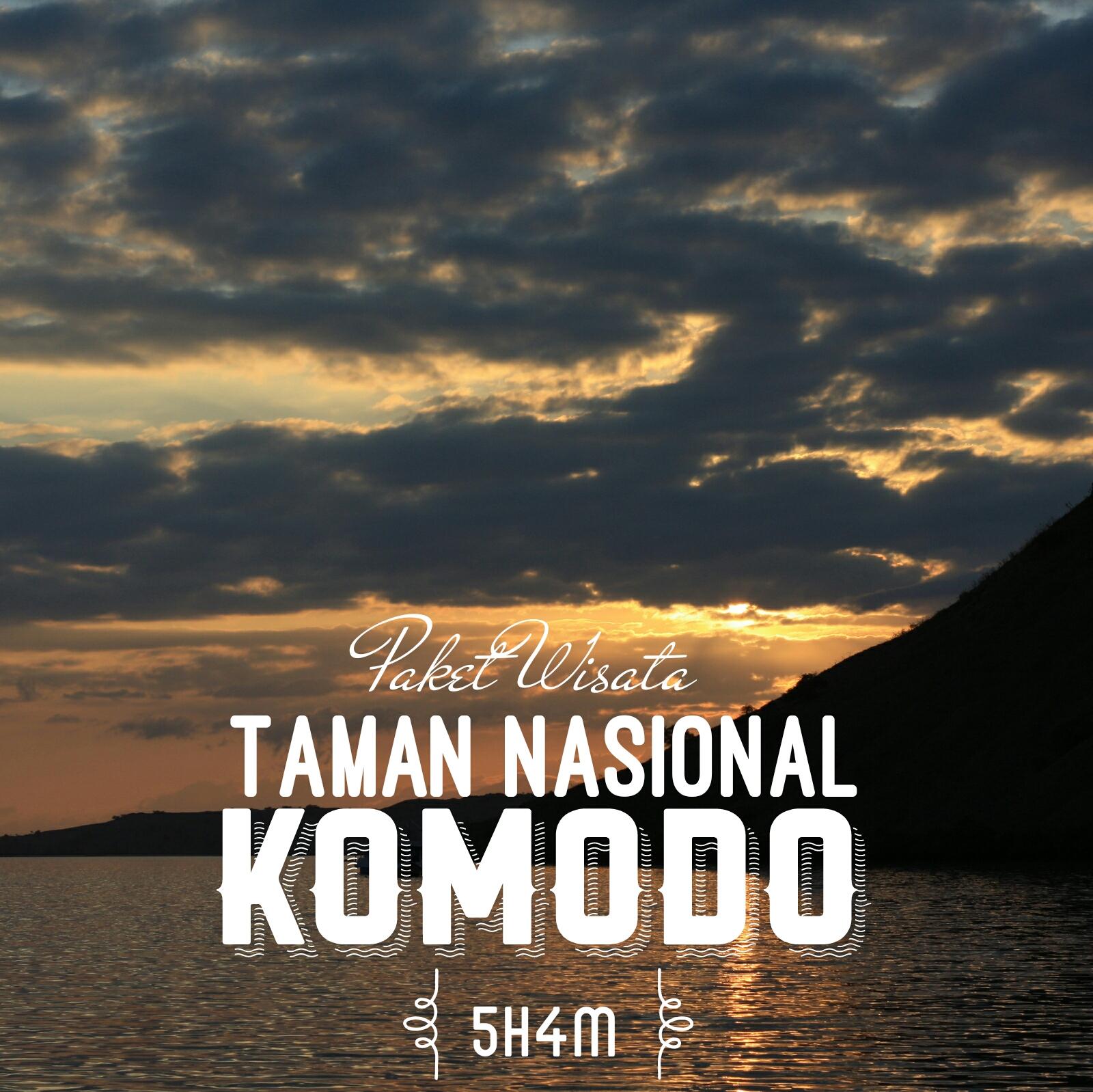 Paket Wisata Taman Nasional Komodo 5h4m Open Trip Sailing 4h3m Start Dari Labuan Bajo