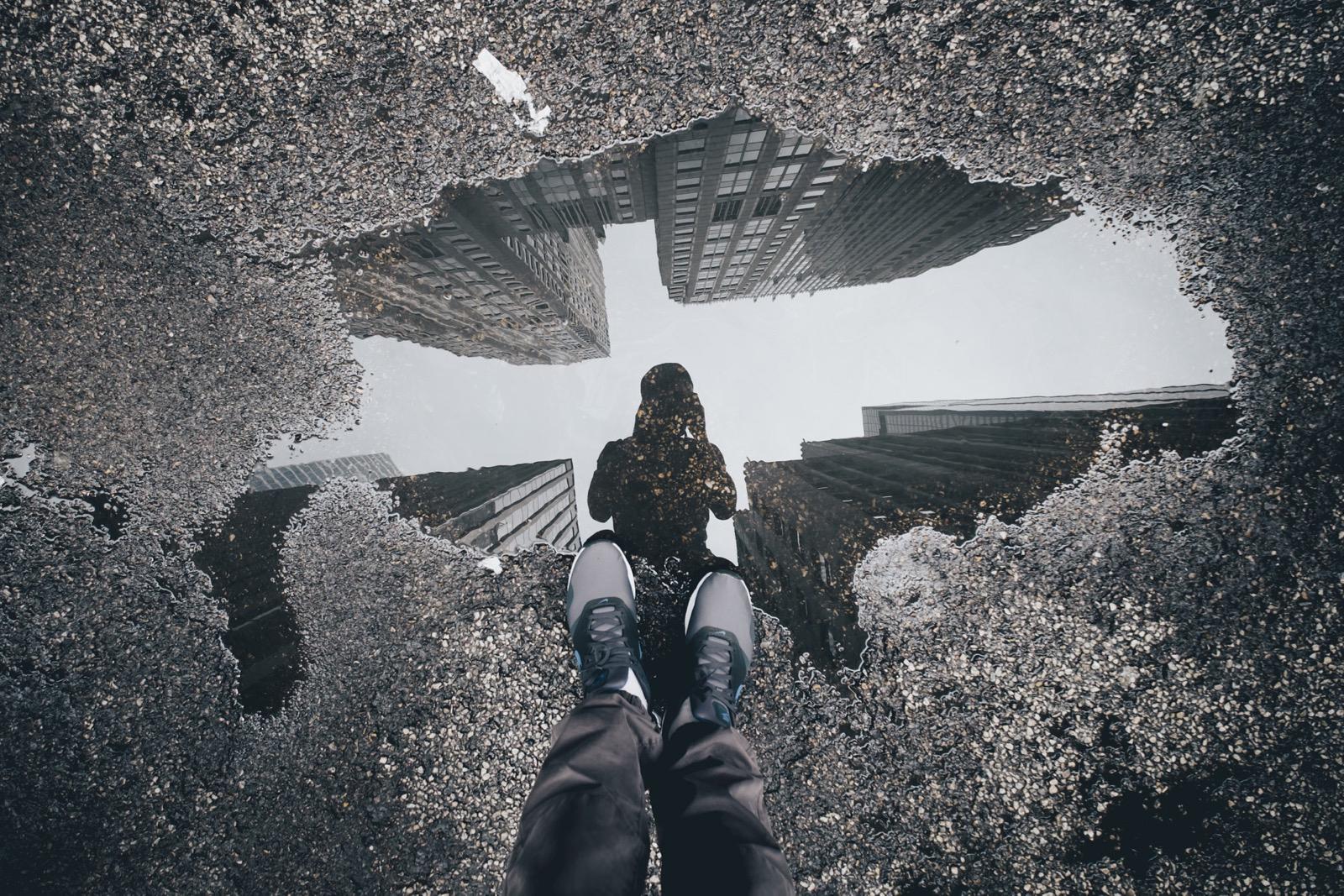 Cara membuat foto refleksi menjadi lebih keren