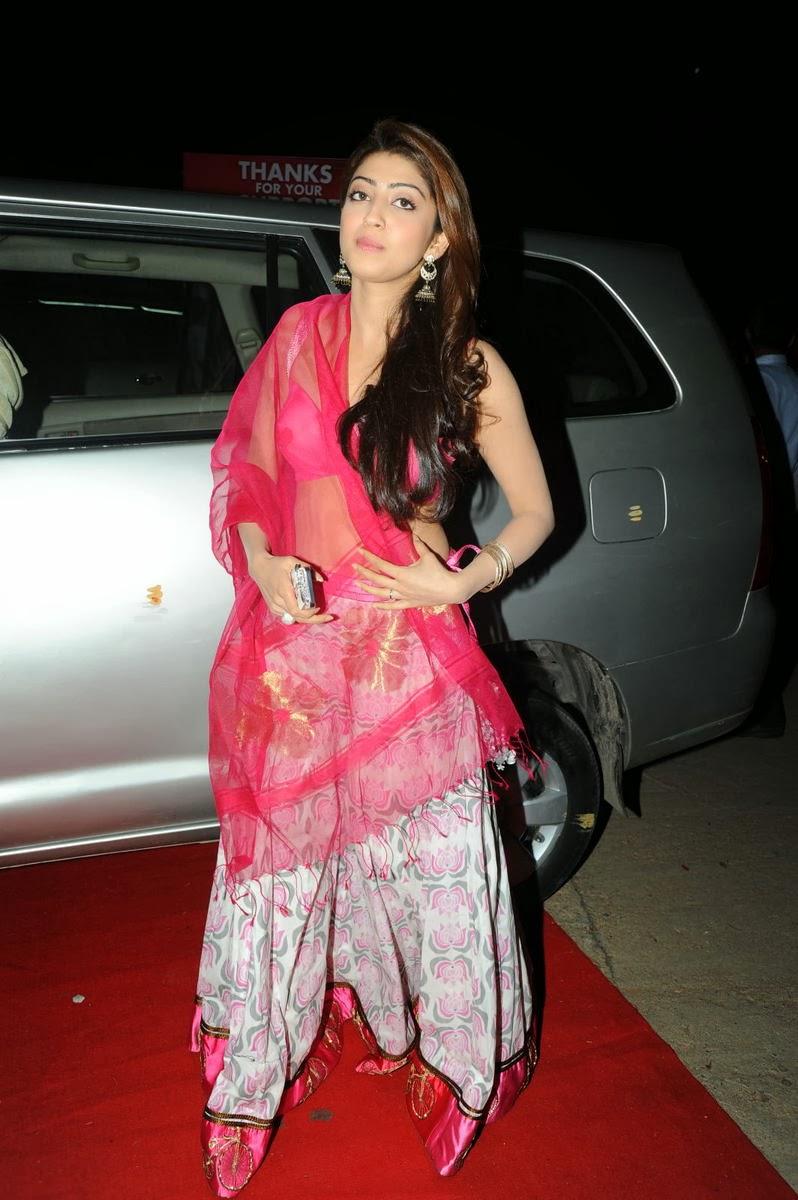 Beautiful Pranitha latest hot photos at thank you meet