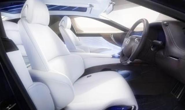 2018 Lexus LS 460 Redesign